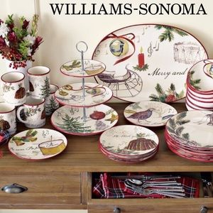 Williams-Sonoma Christmas Carols Platter